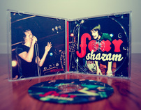 CD packaging & logo redesign: Foxy Shazam