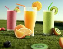 Fruit burst smoothie and cafe bar