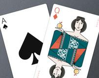 Icelandair Playing Cards