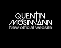 Quentin Mosimann / New official website