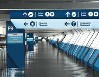 Tiberfe airport wayfinding