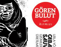 Gören Bulut wine stickers