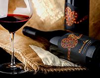 Meandra wine label design by the Labelmaker