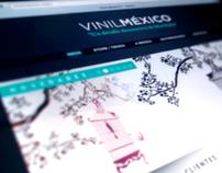 VinilMéxico™ - Corporate Identity, Responsive Website