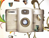 Lomography l Ilustration for Editorial