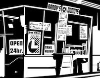 Randy's Donuts - Illustration