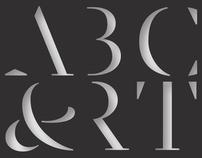 ABC ART TYPEFACE