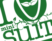 Minisuit Green Campaign Canvas Bag Graphic