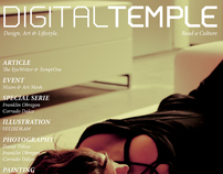 DIGITAL TEMPLE Magazine #8 Issue : RED LIGHT.