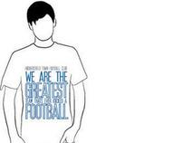 Huddersfield town football club t-shirt