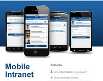 Landmark Group Intranet Mobile App - Email Design