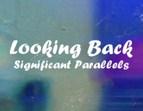 Significant Parallels - Looking Back EP (Cover Design)