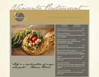 Italian Restaurant Logo, web design