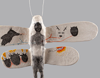 The Animal Inside/ Drawing/ Sculpture/ Mixed Media