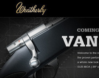 Weatherby Vanguard S2 Landing Page