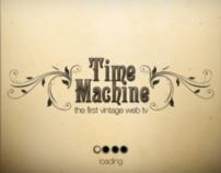 Time Machine - Vintage web tv