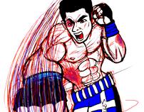 MMA & Martial Arts Illustration