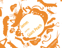 James and the Giant Peach Penguin Book Cover