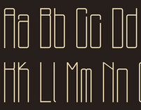 Thinny: A Typeface.