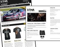 E-Newsletter Design for KRMA Clothing