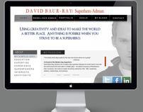 David Baur-Ray's e-Resume website