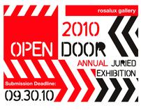 Advertising Graphics: Rosalux Gallery