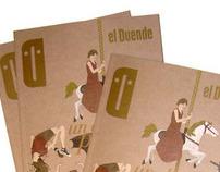 Cover Illustration for El Duende Magazine