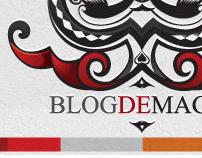 BlogDeMagia Logo Design