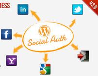 SocialAuth WordPress Plugin