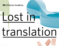 "Exhibition identity: ""Lost in translation"""