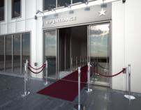 VIP Entrance  to Concert Hall