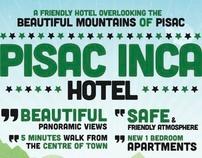 Poster for Pisac Inca Hotel in Peru