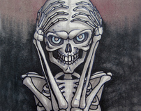 Skeleton portraits