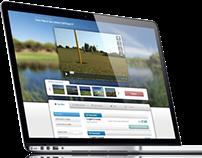 YourGolfTravel.com website redesign