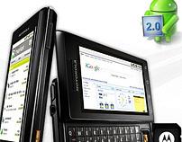 HotSite Motorola Milestone