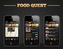 iPhone App: FoodQuest