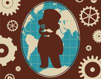 Gentleman Explorer ~ Print Design