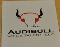 Audibull logo design