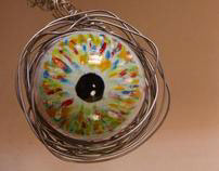 the eye (trash art exhibit)