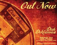 Dish Deklamasi Music Promo Posters Concept and Design