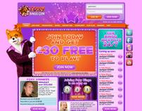 Foxy Bingo website redesign