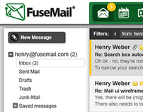 FuseMail Webmail UI
