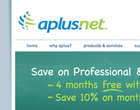 Aplus.net Website