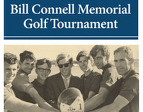 Bill Connell Golf Tournament flyer