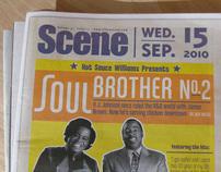 Scene Magazine Cover Design