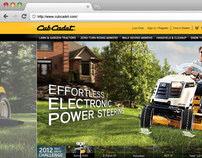 Cub Cadet Website Design