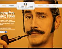 Blade & Badger Barber Branding & Campaign