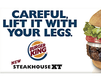 Burger King Outdoor Advertising
