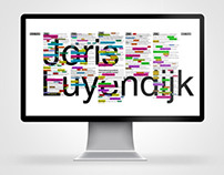 Luyendijk project : Entertainment of News