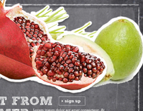 Whole Foods Site Redesign Concepts